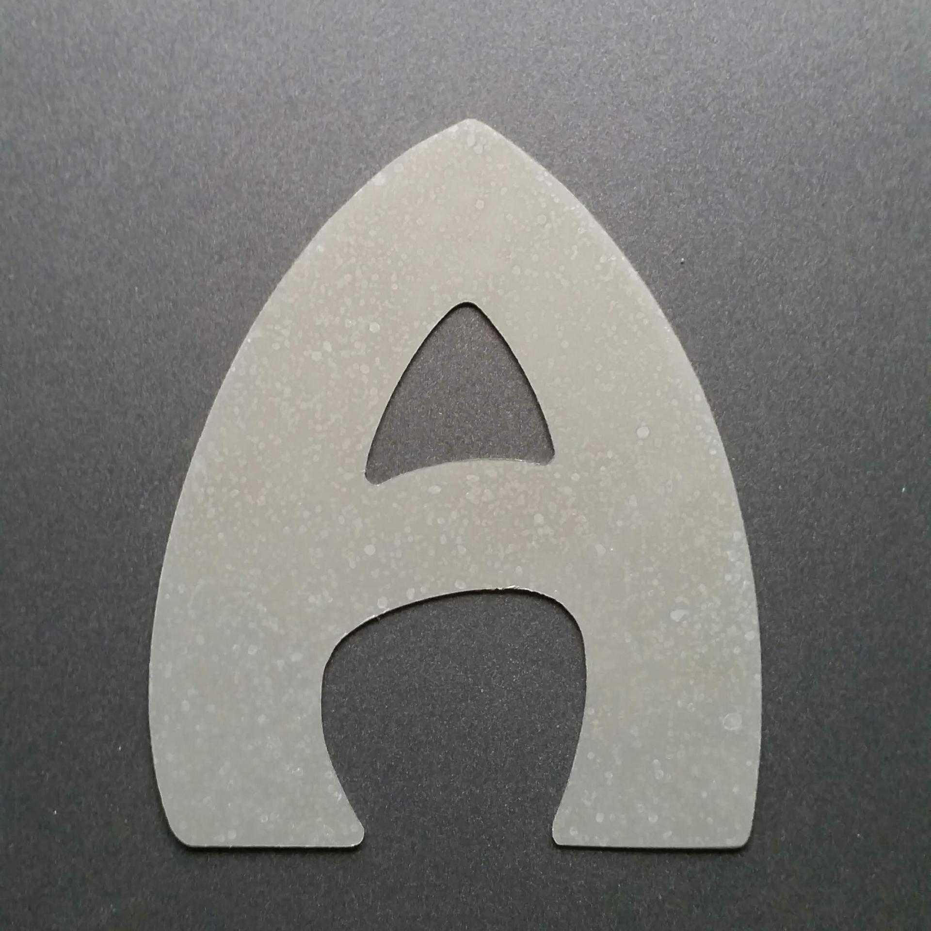Lettre en zinc harlquin 1