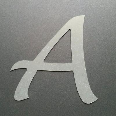 Lettre en zinc LUCIDA HANDWRITING