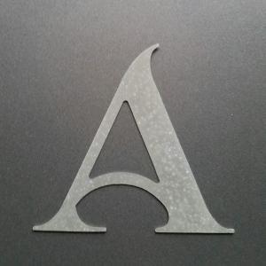 Lettre en zinc shangri la