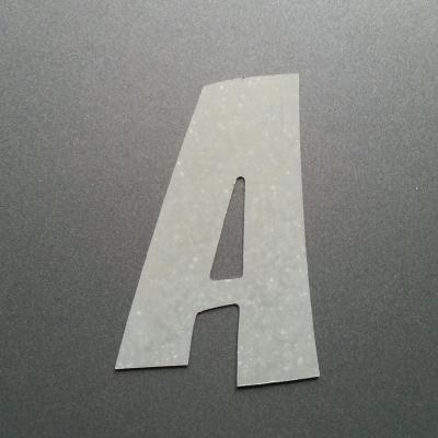 Lettre en zinc modèle ZOINKS