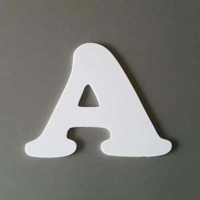 Découpe de lettre enseigne en plastique pvc COOPER BLACK