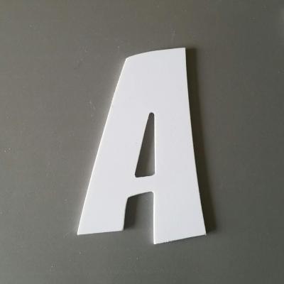 Découpe de lettre enseigne en plastique pvc ZOINKS