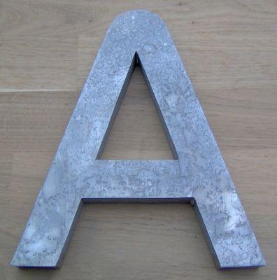 Lettre métal 3D FUTURE