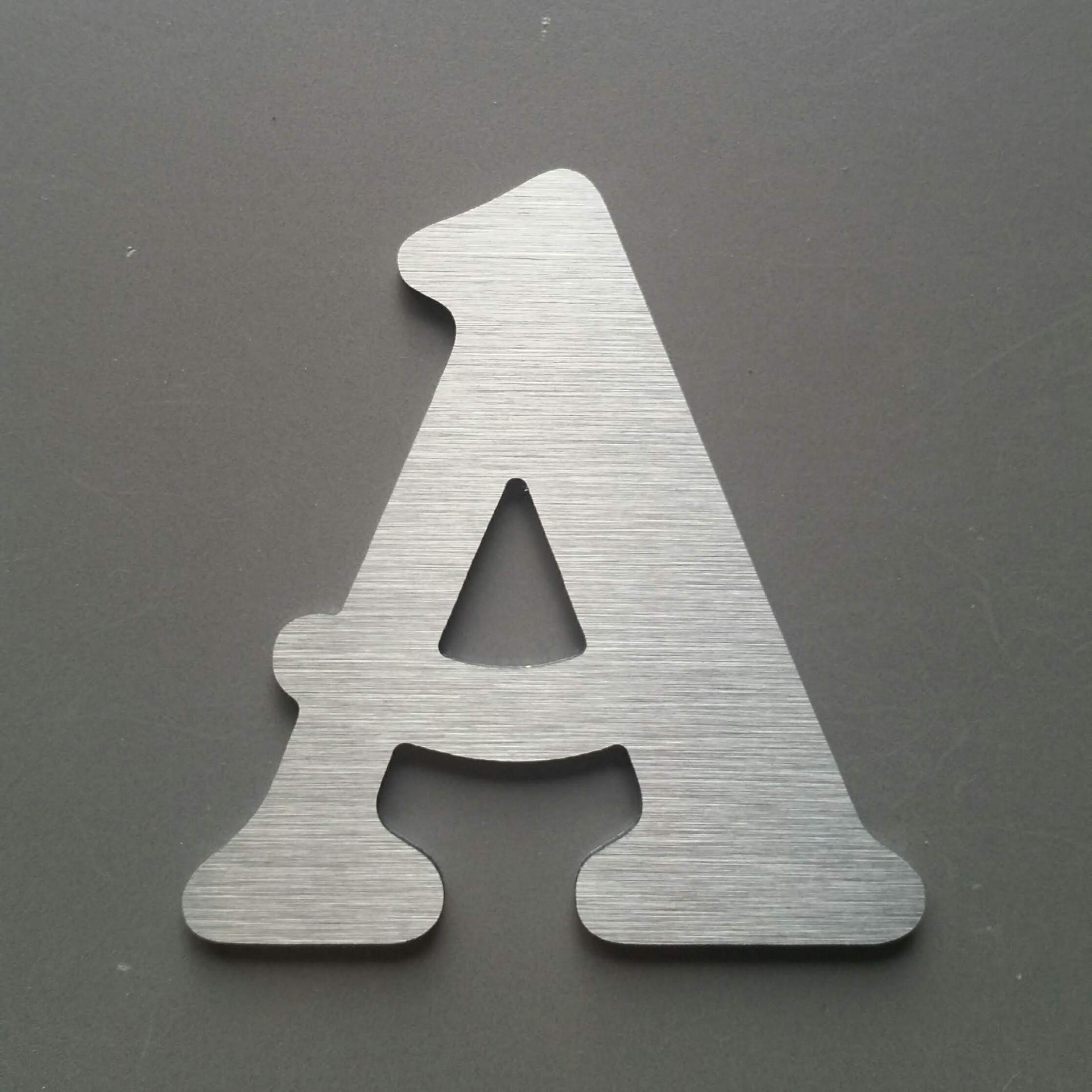 Lettre metal belshaw