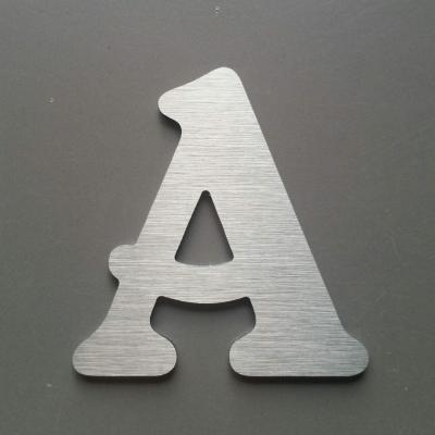 Lettre metal modèle BELSHAW