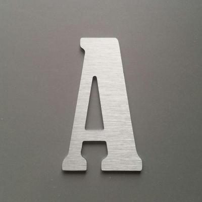 Lettre metal BERNARD CONDENSED
