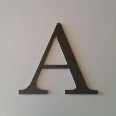 Lettre en alu DIBOND couleur & métal CENTURY