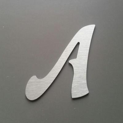 Lettre metal modèle FELIPE