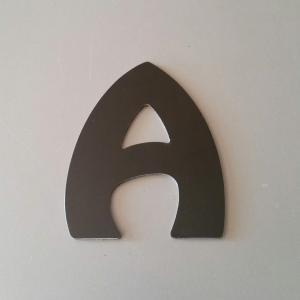 Lettre metal harlequin 1