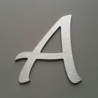 Lettre metal LUCIDA HANDWRITING