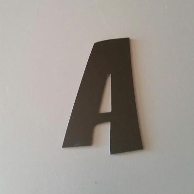 Lettre en alu DIBOND couleur & métal ZOINKS