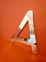 Lettre miroir modèle ANIME ACE