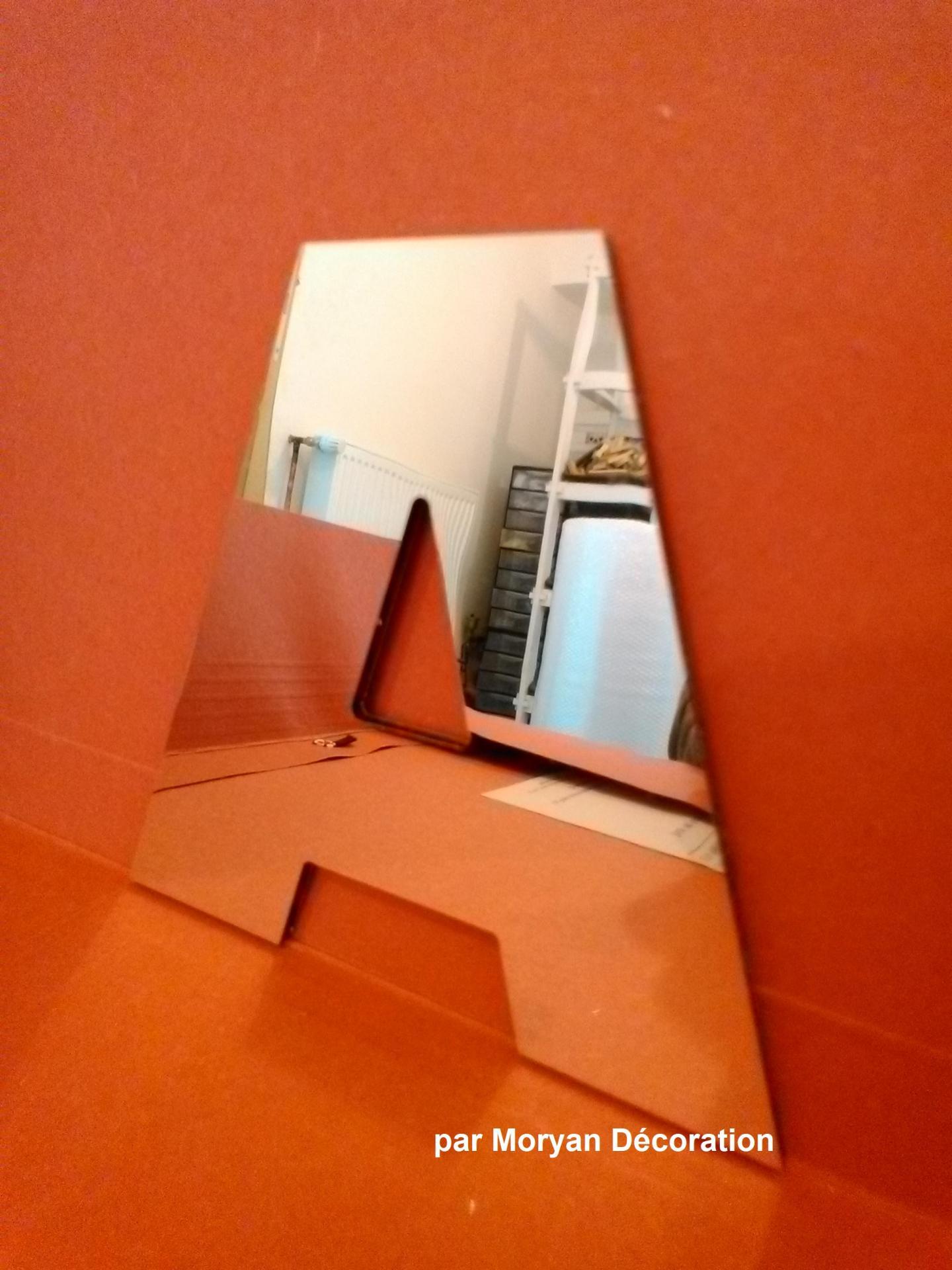 Lettre miroir arial black 3