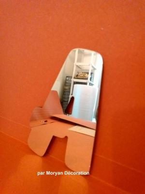 Lettre miroir modèle BALLOON