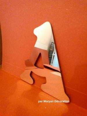 Lettre miroir modèle BELSHAW