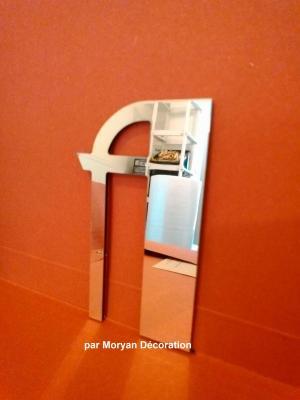 Lettre miroir modèle BETTY