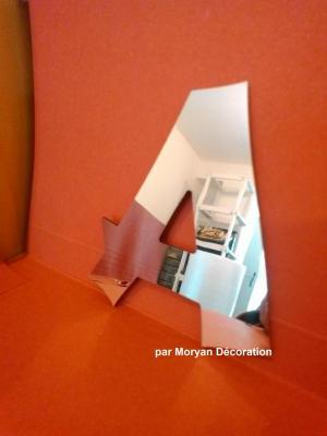 Lettre miroir modèle CANCUN