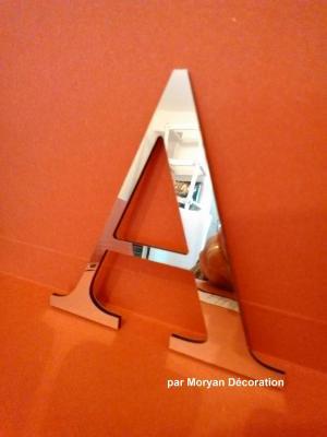 Lettre miroir modèle CENTURY