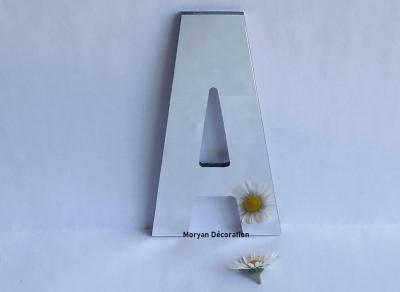 Lettre miroir modèle ALTERNATE GOTHIC