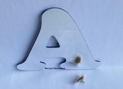 Lettre miroir modèle COOPER BLACK