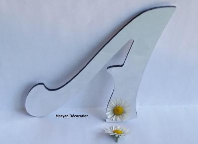 Lettre miroir modèle FELIPE