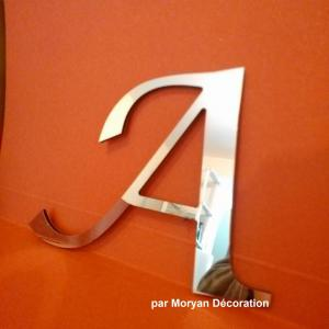 Lettre miroir lucida calligraphy 1