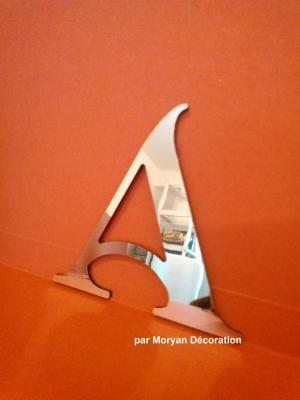 Lettre miroir modèle SHANGRI LA