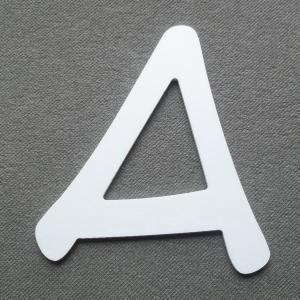 Découpe lettre enseigne plastique PVC ANIME