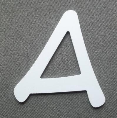 Découpe de lettre enseigne en plastique pvc ANIME ACE