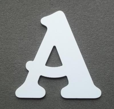 Découpe de lettre enseigne en plastique pvc BELSHAW