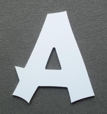 Découpe de lettre enseigne en plastique pvc CANCUN