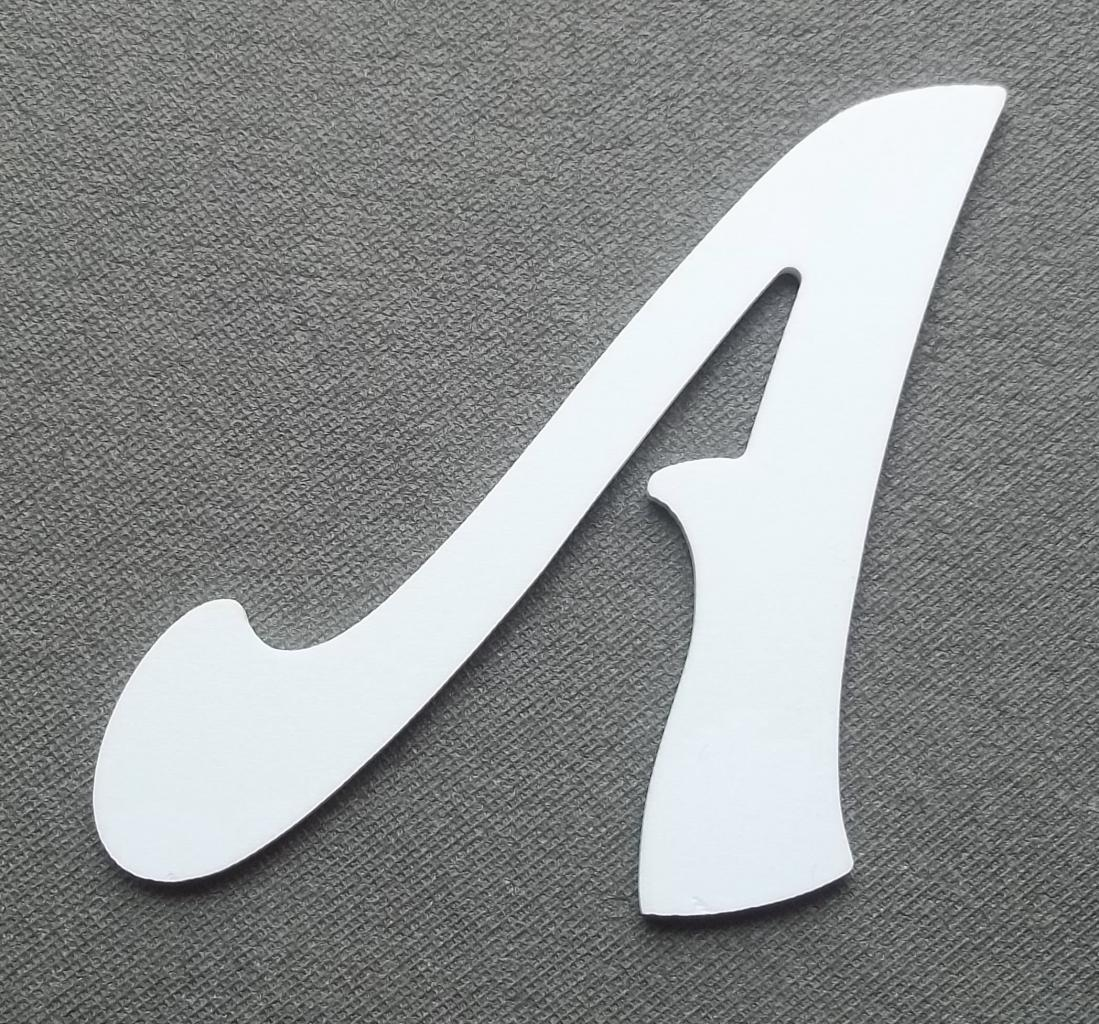 Découpe lettre enseigne plastique PVC FELIPE