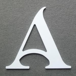 Découpe lettre enseigne plastique PVC SHANGRI