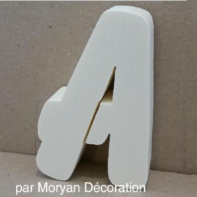 Lettre en polystyrène BALLOON