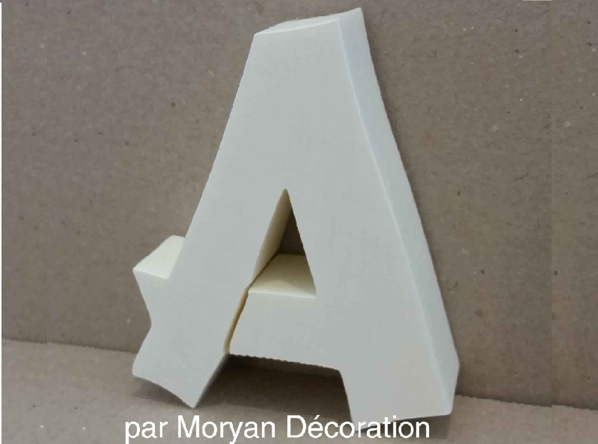 Lettre polystyrene decorative murale cancun