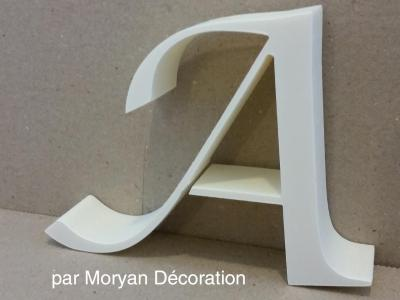 Lettre en polystyrène LUCIDA CAL