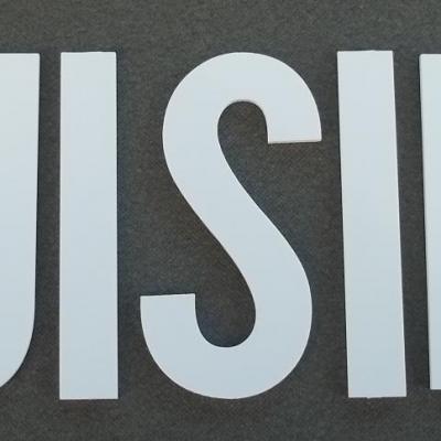 Lettre PVC : CUISINE