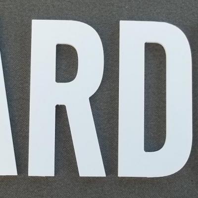 Lettre PVC: JARDIN