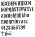 Lettre zinc BERNARD CONDENSED