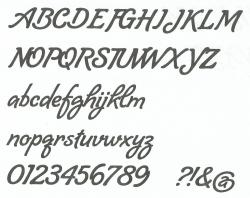 Lettre zinc LOMBRIZ