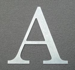 Lettre zinc CENTURY
