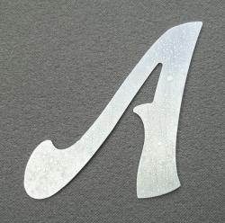 Lettre zinc FELIPE