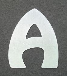 Lettre zinc HARLEQUIN