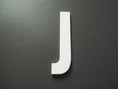 Lettre prénom PVC J