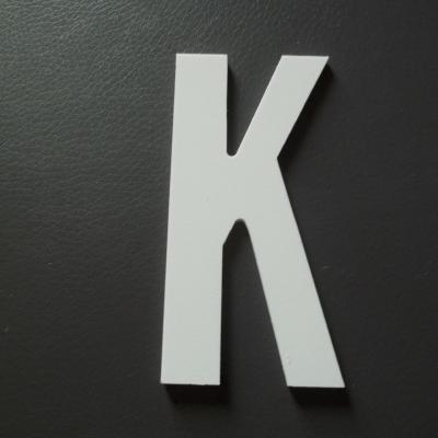Lettre prénom PVC K