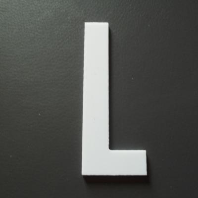 Lettre prénom PVC L