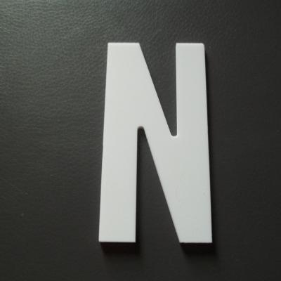 Lettre prénom PVC N