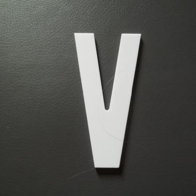 Lettre prénom PVC V