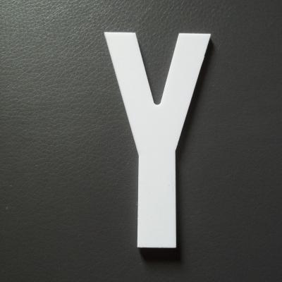 Lettre prénom PVC Y