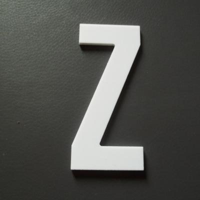 Lettre prénom PVC Z